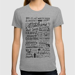 The Machine | Person of Interest T-shirt