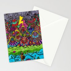 the scuba diver Stationery Cards