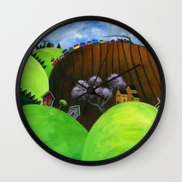 Hilly Humbly Wall Clock