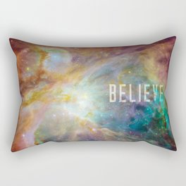 Believe - Orion Nebula Rectangular Pillow