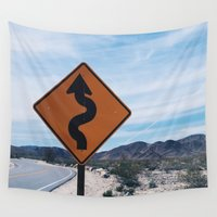 snake Wall Tapestries featuring Snake by Alex Johnson
