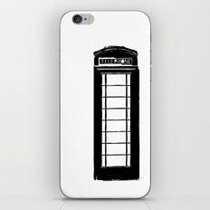 Architecture - Telephone box iPhone & iPod Skin