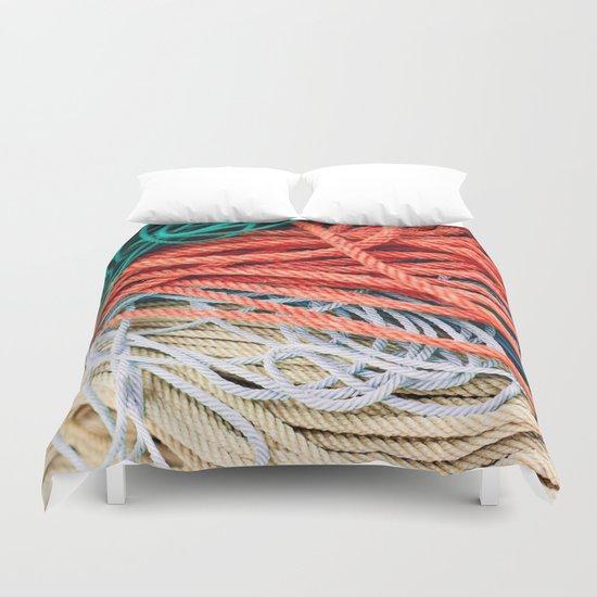 Sailor Rope II Duvet Cover