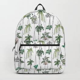hanging pots pattern Backpack
