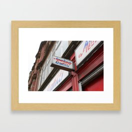Northern Quarter. Framed Art Print