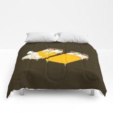 Sick In Bed Comforters