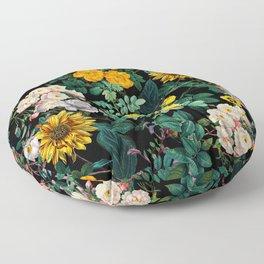 Midnight Garden XX Floor Pillow