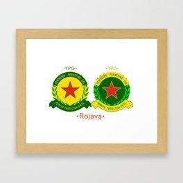 YPG/J Framed Art Print