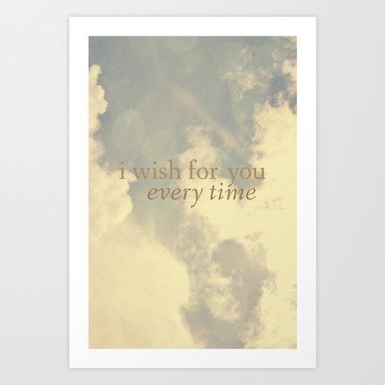 I Wish for You  Art Print
