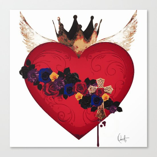 Sacred Heart for Frida Canvas Print