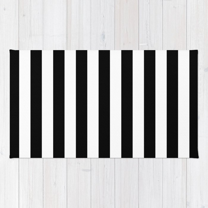 rugs black white rug kutskokitchen kitchen and striped