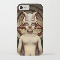 baphomet iPhone & iPod Cases featuring PETIT BAPHOMET by ENVYDOLLS