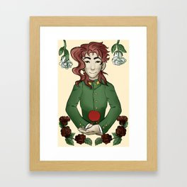 Hole-punched Framed Art Print