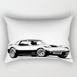 A. M. 7 Rectangular Pillow