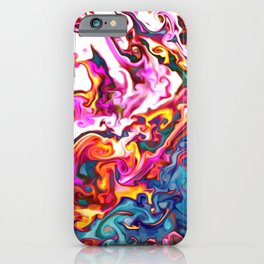 Mantis Shrimp Abstract iPhone Case
