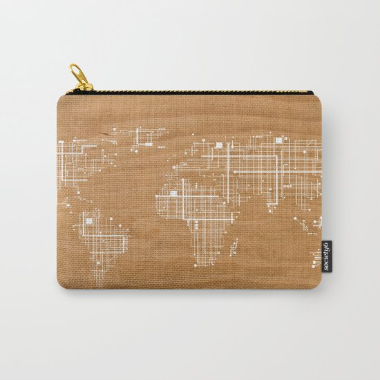DIGITAL RECONNECTION Carry-All Pouch