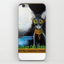 Egyptian Cat Goddess iPhone Skin