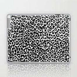 Leopard Pattern (Black and White) Laptop & iPad Skin