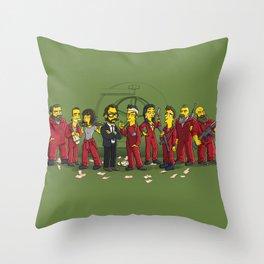 Casa De Papel Throw Pillow