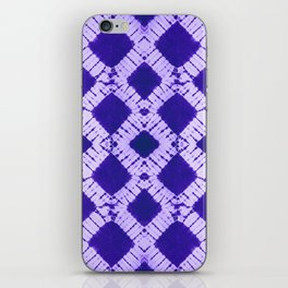 big checkered tie-dye iPhone Skin