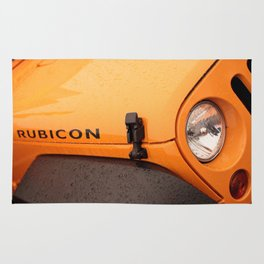 Jeep Rubicon Rug