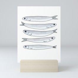 anchovies in my pantry Mini Art Print