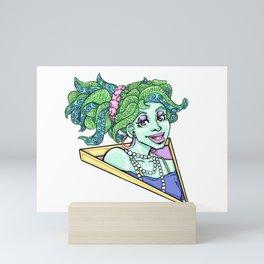 80s Octo Girl Mini Art Print