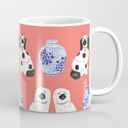 Staffordshire Dogs + Ginger Jars No. 3 Coffee Mug