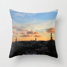 Jerusalem of Light Throw Pillow