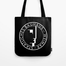BAUHAUS LOGO / BLACK Tote Bag
