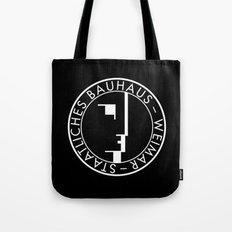 BAUHAUS LOGO / BLACK Tote Bag