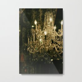 New Orleans Chandelier Metal Print