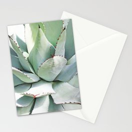 Agave plant Stationery Cards