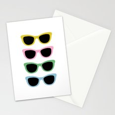 Sunglasses #4 Stationery Cards