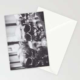 Trio of Skulls Stationery Cards