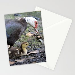 Happy Mama Duck Stationery Cards