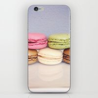 macaroons iPhone & iPod Skins featuring macaroons by bailybelle