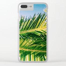 Isla Palm Clear iPhone Case