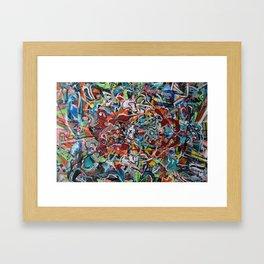 yes no Framed Art Print