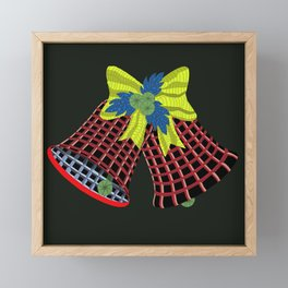 Christmas Bells Framed Mini Art Print
