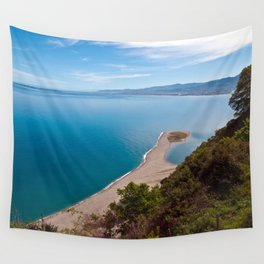White Lagoon of Tindari on the Isle of Sicily Wall Tapestry