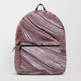 original wood texture Backpack