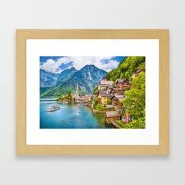 Picture Perfect Hallstatt Framed Art Print