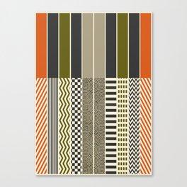 Patterns - Color Canvas Print