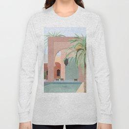 Moroccan Pool Long Sleeve T-shirt