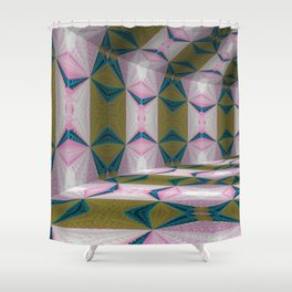 Iconic Hollows 5 Shower Curtain