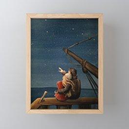 Stargazers Framed Mini Art Print