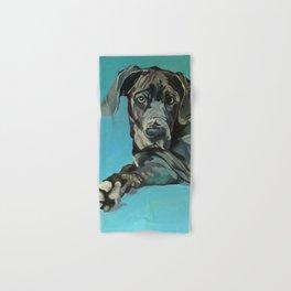 Great Dane Dog Portrait Hand & Bath Towel