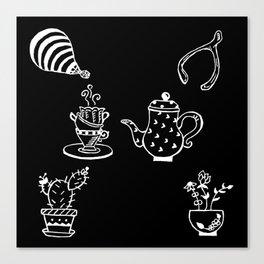 Whimsical Themed Illustration Canvas Print