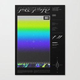 SHADES ⏤ ANXIETY Canvas Print